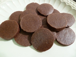 Mexican Chocolate Icebox Cookies